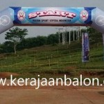 Balon Gate di Way Kanan