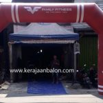 Balon Gate Start Finish Medan