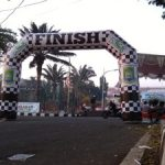 Balon Gate Start Finish Semarang